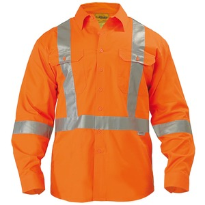 3M X Taped Hi Vis Drill Shirt L/S