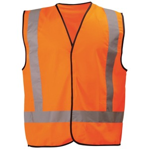 X Taped Hi Vis Vest Lightweight