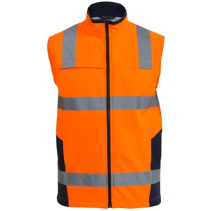 Taped Hi Vis Softshell Vest