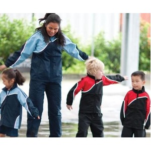 Kids Woven Tracksuit Jacket