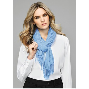 Ladies Monotone Knitted Scarf
