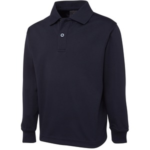 Long Sleeve Poly Polo