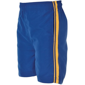 Podium Kids Dual Stripe Warm Up Shorts