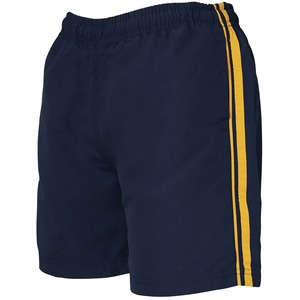 Podium Dual Stripe Warm Up Shorts
