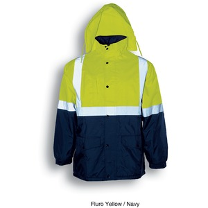 Hi-Vis Mesh Lining Jacket With Refl Tape