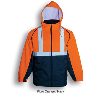 Hi-Vis Three In One Jacket With Refl Tape