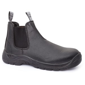 Bison Trade Slip On Leather Safety Boot