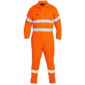 Hi Vis Taped Flame Resistant Vented Coverall