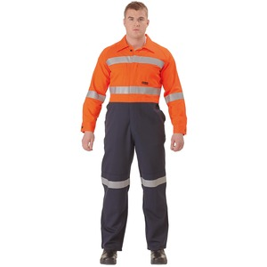 Westex Ultrasoft® 3M Taped Hi Vis Flame Resistant Coverall