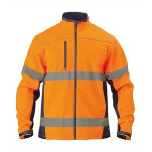 Taped Hi Vis Softshelled Jacket