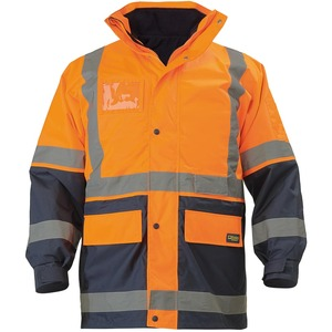 5 - In - 1 Hi Vis Rain Jacket